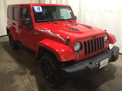 2015 Jeep Wrangler Unlimited in Grants Pass
